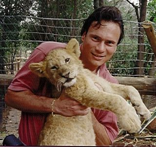 Lion cub in SA GSE 1995 cropd